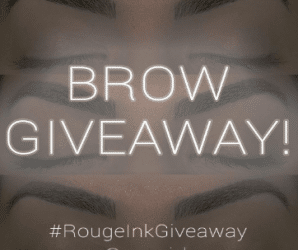 OUR FIRST BLOG POST + BROW GIVEAWAY!